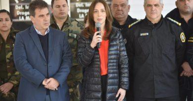VIDAL ANUNCIÓ REFORMAS EN LA POLICÍA BONAERENSE