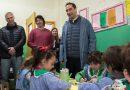 TAGLIAFERRO RECORRIÓ OBRA QUE SE HACE CON EL FONDO EDUCATIVO