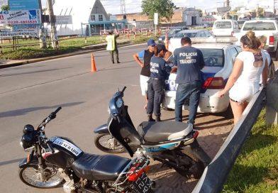 MERLO: DOCE MOTOS INCAUTADAS EN OPERATIVOS DE SATURACIÓN