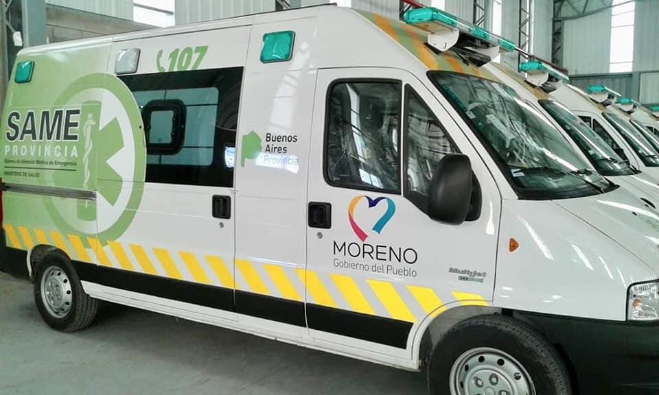 Ambulancia Moreno