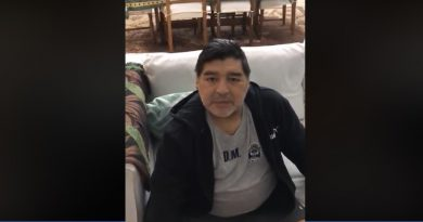 EL EMOTIVO VIDEO DE MARADONA PARA UN CLUB DE CASTELAR