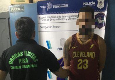 MARIANO ACOSTA: DEALER CAYÓ DETENIDO EN PLENA VENTA