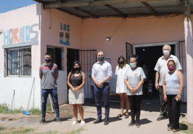 MORENO: MARTÍN GUZMÁN VISITÓ EL CENTRO CULTURAL LA CHICHARRA