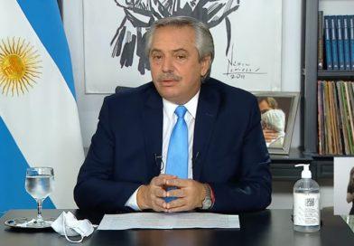 ALBERTO FERNÁNDEZ ANUNCIÓ NUEVAS MEDIDAS PARA EL AMBA: RESTRICCIÓN DE CIRCULACION NOCTURNA ENTRE LAS 20 Y LAS 6