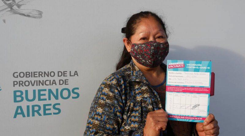 VACUNATE: LOS MAYORES DE 55 AÑOS PODRÁN DARSE LA PRIMERA DOSIS SIN TURNO PREVIO