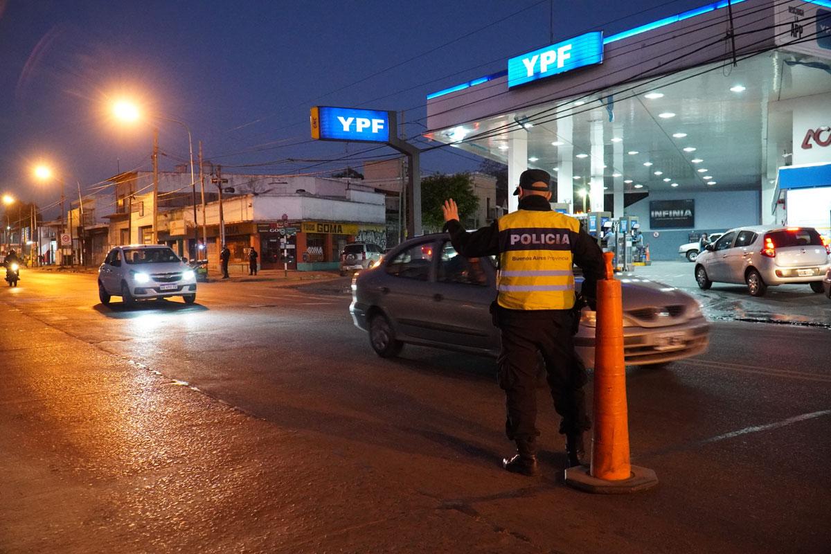 MERLO: OPERATIVOS DE TRÁNSITO Y SEGURIDAD